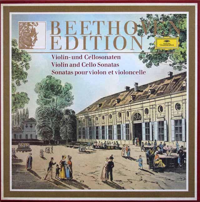 ベートーヴェン・エディション1977 第7巻 ヴァイオリンソナタ、チェロソナタ集 独DGG 3332 LP レコード