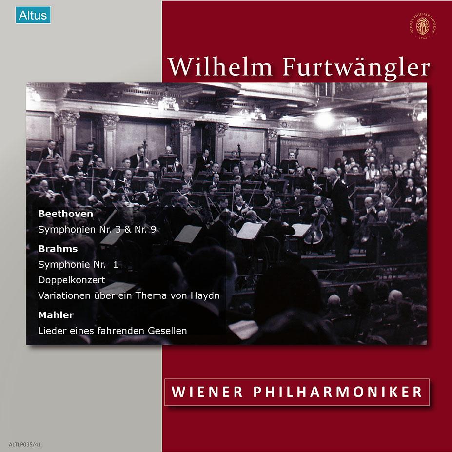 【追加限定発売】フルトヴェングラー&ウィーン・フィル戦後ライヴ集1952~53年 ALTLP035 7LP