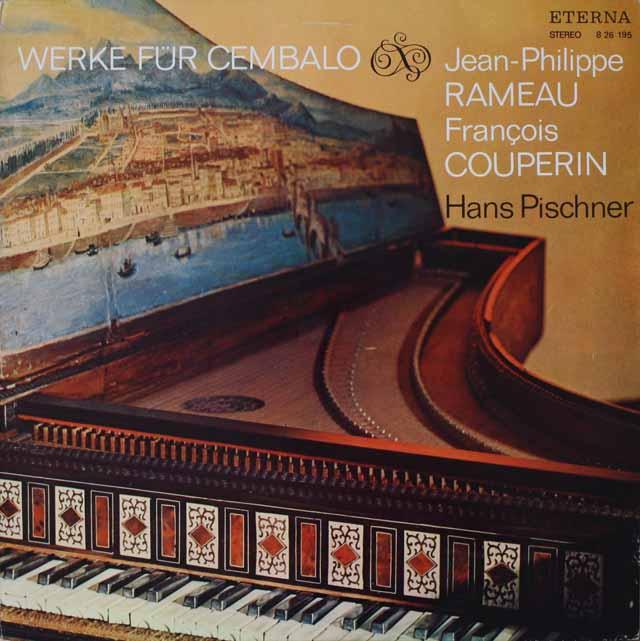 ピシュナーのクープラン&ラモー/チェンバロ作品集 独ETERNA 3227 LP レコード