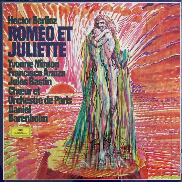 【未開封】 バレンボイムのベルリオーズ/劇的交響曲「ロメオとジュリエット」 独DGG 3281 LP レコード