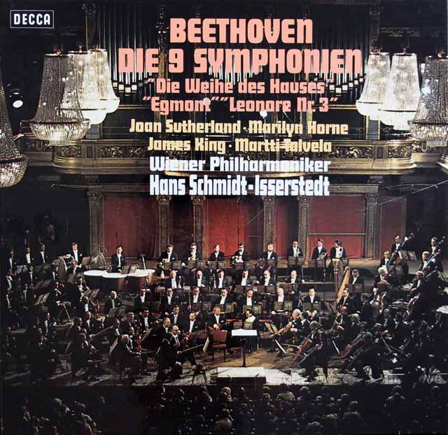 イッセルシュテットのベートーヴェン/交響曲全集 独DECCA 2932 LP レコード