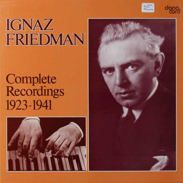 フリードマン録音全集 デンマークdanacord 3292 LP レコード