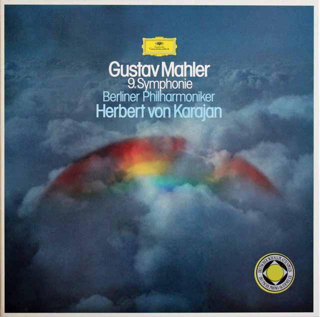 カラヤンのマーラー/交響曲第9番 独DGG 2914 LP レコード