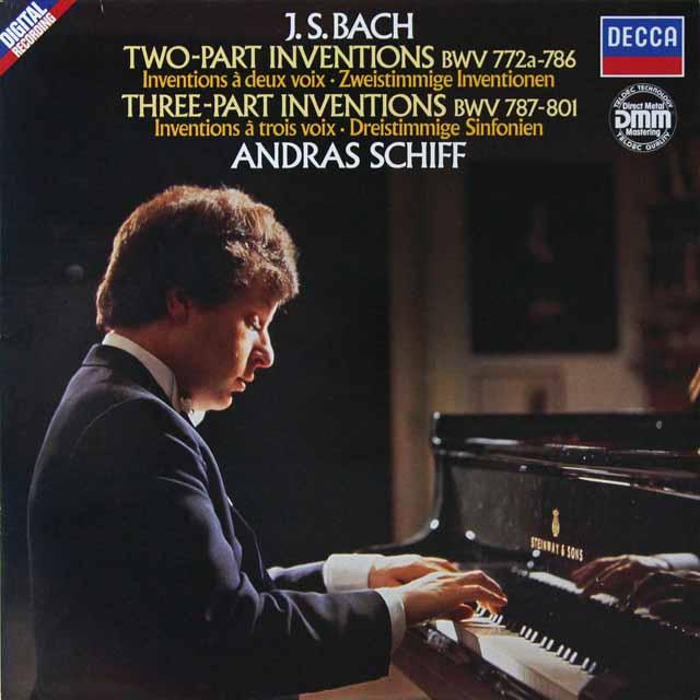 シフのバッハ/インヴェンションとシンフォニア 独DECCA  2708 LP レコード