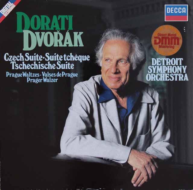 ドラティのドヴォルザーク/チェコ組曲ほか 独DECCA 3283 LP レコード