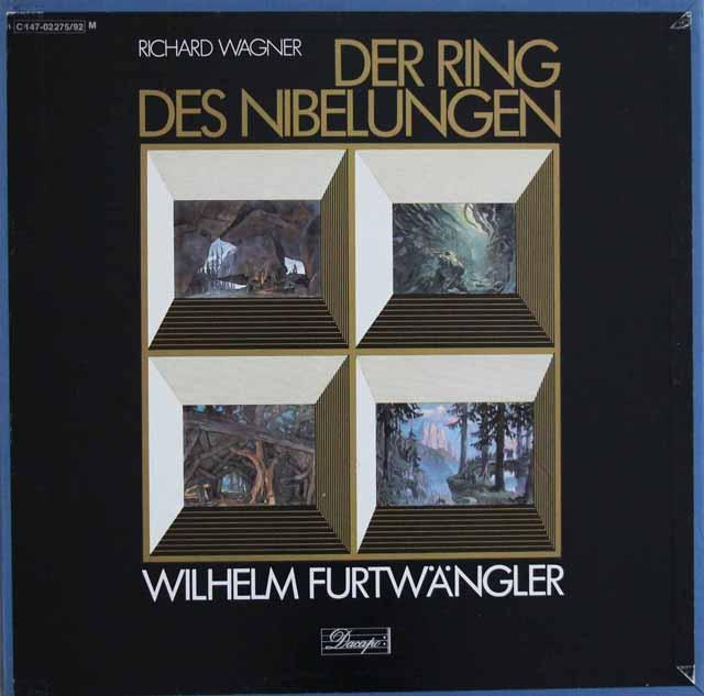 【特価!】 フルトヴェングラーのワーグナー/「ニーベルングの指輪」 独EMI 3283 LP レコード