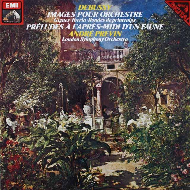 プレヴィンのドビュッシー/「管弦楽のための映像」 独EMI 3231 LP レコード