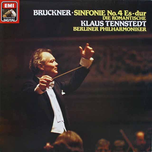 テンシュテットのブルックナー/交響曲第4番「ロマンティック」 独EMI 3231 LP レコード