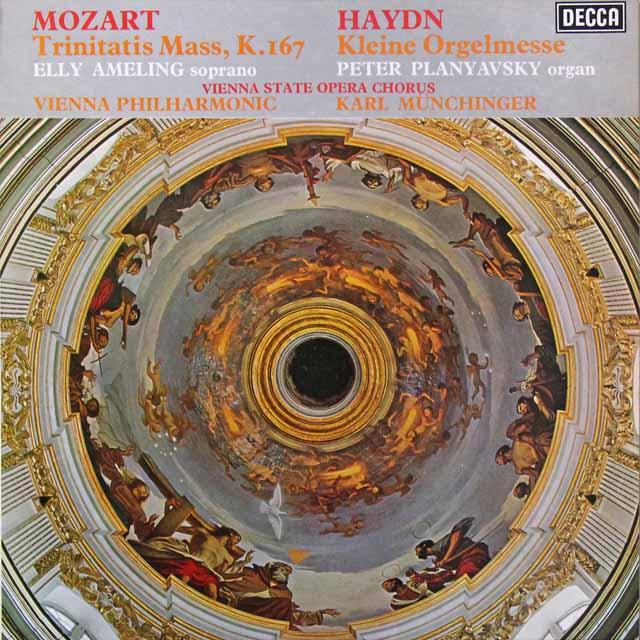 【オリジナル盤】 ミュンヒンガーのモーツァルト&ハイドン/ミサ曲集 英DECCA   2715 LP レコード