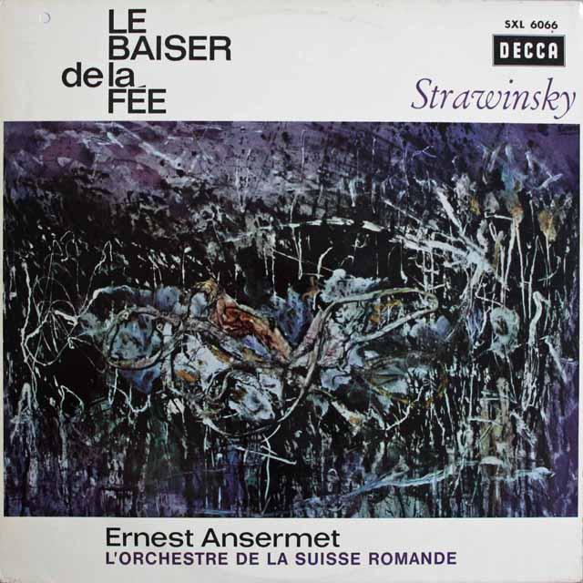 アンセルメのストラヴィンスキー/「妖精の接吻」 独DECCA 3231 LP レコード