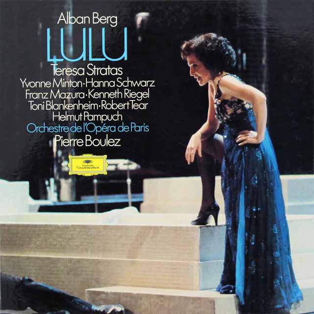 ブーレーズのベルク/「ルル」(三幕版/全曲) 独DGG 3294 LP レコード