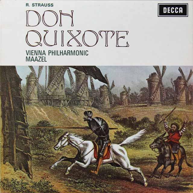 マゼールのR.シュトラウス/「ドン・キホーテ」 英DECCA 3292 LP レコード