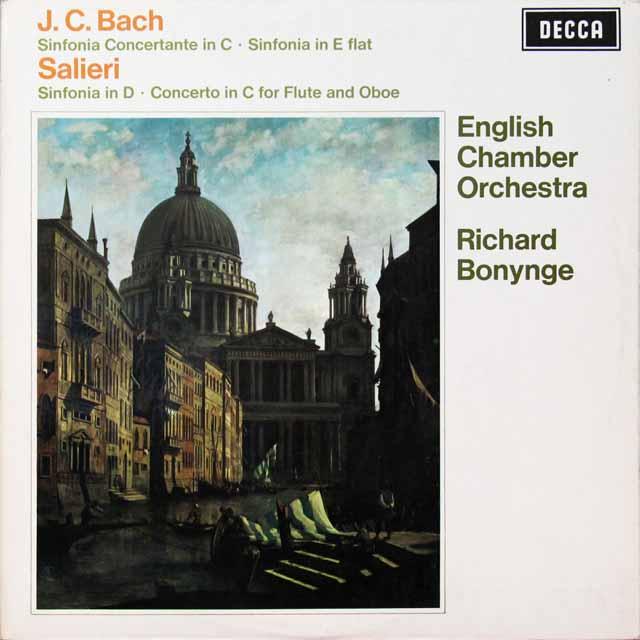 【オリジナル盤】 ボニングのバッハ/協奏交響曲ほか 英DECCA 3292 LP レコード