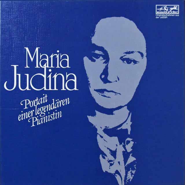 「マリア・ユーディナの芸術」(1) 独EURODISC 3292 LP レコード