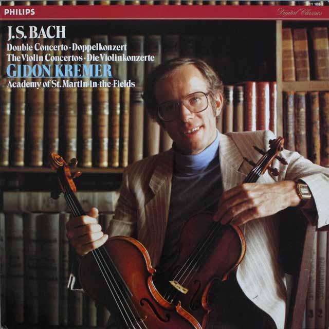クレーメルのバッハ/ヴァイオリン協奏曲集  蘭PHILIPS 3301 LP レコード