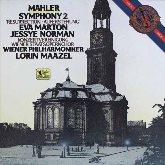 マゼールのマーラー/交響曲第2番「復活」 蘭CBS 3303 LP レコード