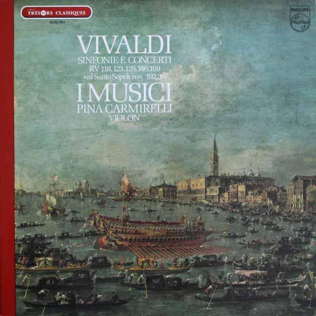 カルミネッリ&イ・ムジチのヴィヴァルディ/ヴァイオリン協奏曲 仏PHILIPS 3304 LP レコード