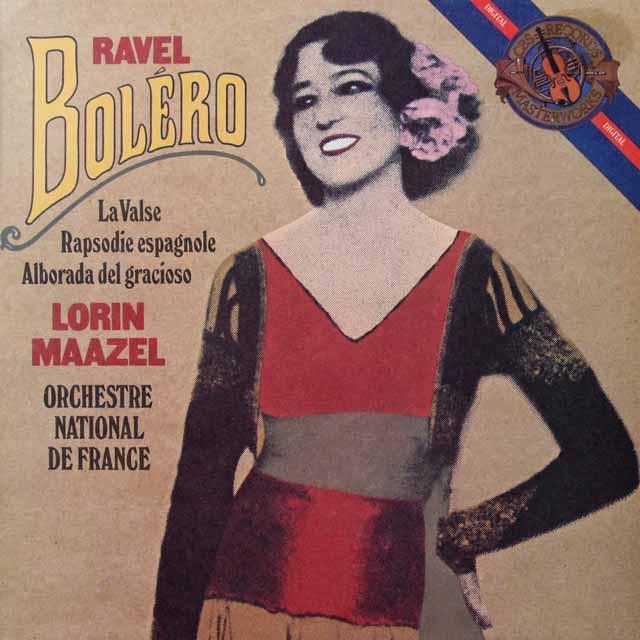マゼールのラヴェル/「ボレロ」 蘭CBS 3291 LP レコード
