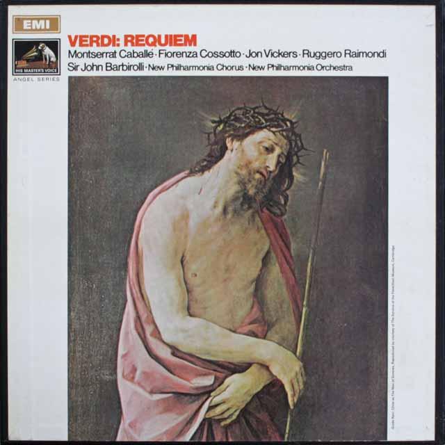 バルビローリのヴェルディ/レクイエム 英EMI 3308 LP レコード