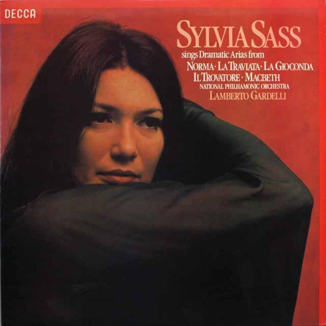 【オリジナル盤】シャシュの「オペラアリア集」   英DECCA   2549 LP レコード
