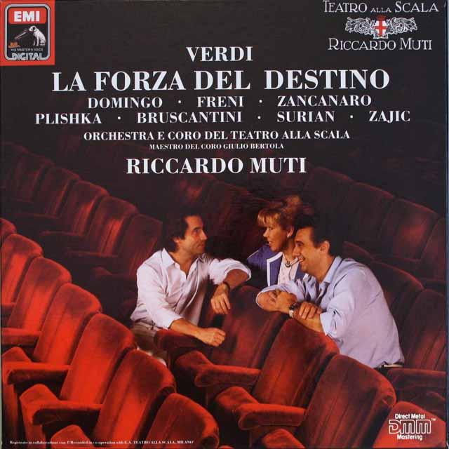 ムーティのヴェルディ/「運命の力」 独EMI   2552 LP レコード