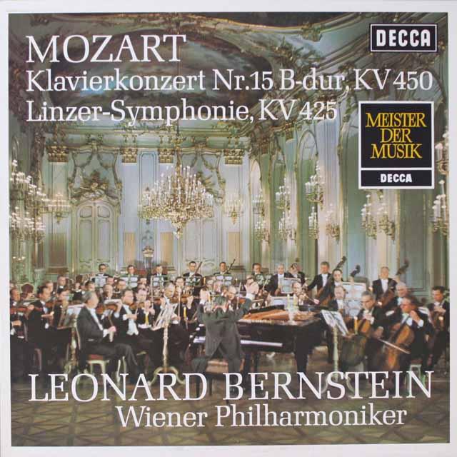 バーンスタインのモーツァルト/交響曲第36番「リンツ」ほか 独DECCA 2603 LP レコード