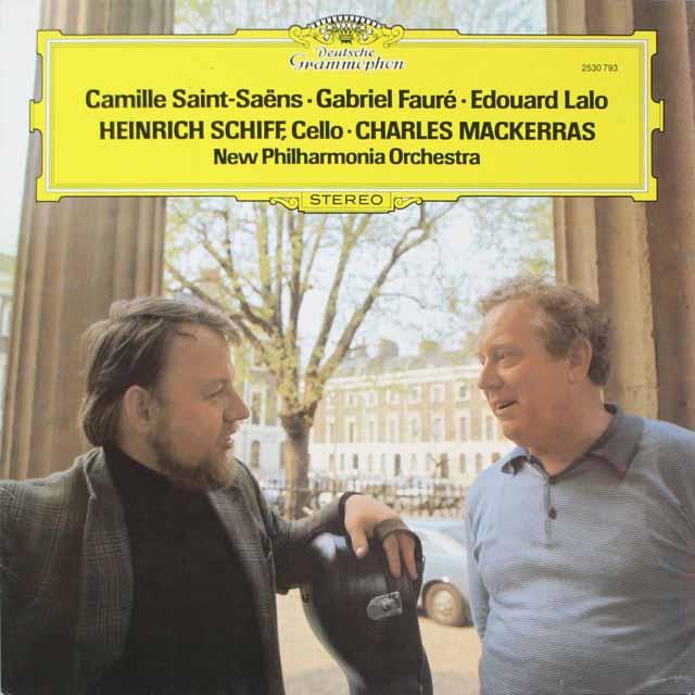 シフ&マッケラスのサン=サーンス/チェロ協奏曲第1番ほか 独DGG 2606 LP レコード