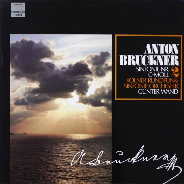 ヴァントのブルックナー/交響曲第2番  独HM  2623 LP レコード