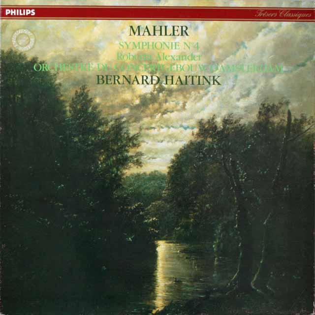 ハイティンクのマーラー/交響曲第4番  仏PHILIPS  2626 LP レコード