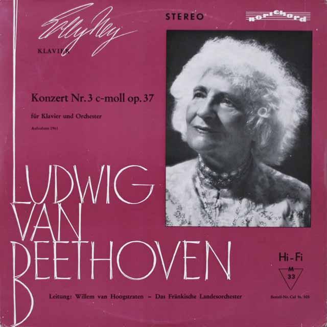 ナイ&ホーフストラーテンのベートーヴェン/ピアノ協奏曲第3番 独colosseum 2614 LP レコード