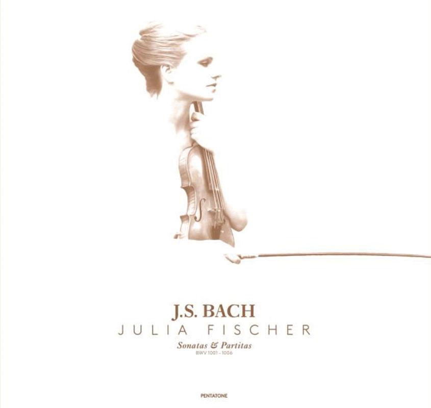 【LP レコード】 ユリア・フィッシャーのバッハ/無伴奏ヴァイオリンのためのソナタとパルティータ(全6曲) <200セット完全限定/国内プレス> KKC 1181/1186 6LP