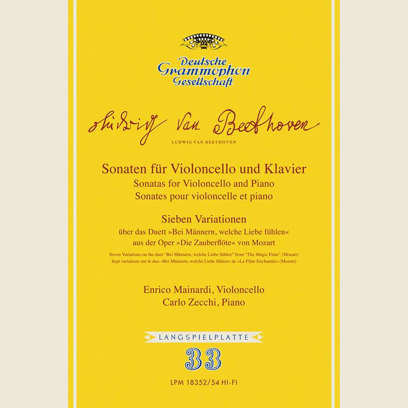 【LP レコード】 マイナルディのベートーヴェン/チェロ・ソナタ全集 LP43153 モノラル 3LP