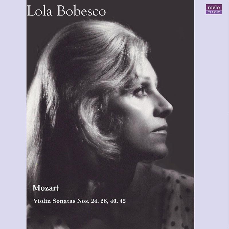 【LPレコード】 ローラ・ボベスコ モーツァルト/未発表ヴァイオリン・ソナタ集 <完全限定生産盤> MELOLP001/002 2LP