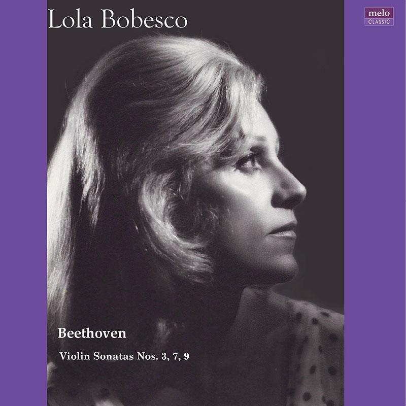 【LPレコード】 ローラ・ボベスコ ベートーヴェン/未発表ヴァイオリン・ソナタ集 <完全限定生産盤> MELOLP003/004 2LP