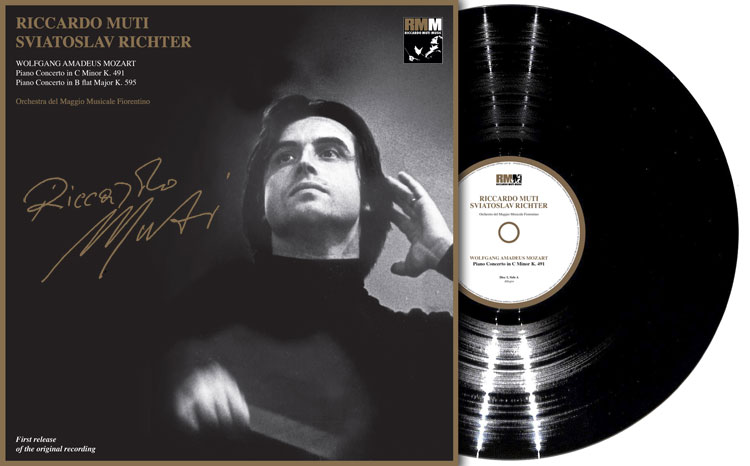 【LPレコード】 リヒテル&ムーティのモーツアルト/ピアノ協奏曲第24&27番 <完全限定生産盤> RMM2018LP 2LP