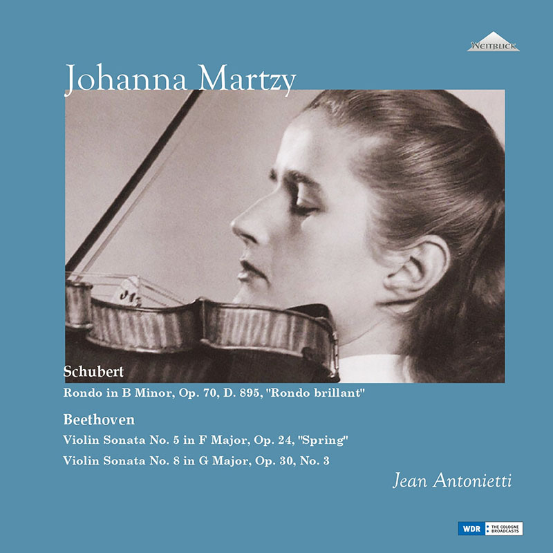 【LPレコード】 ヨハンナ・マルツィのベートーヴェン/ヴァイオリンソナタ第5番「春」ほか 未発表スタジオ録音集 <完全限定生産盤> WEITLP001/002 2LP