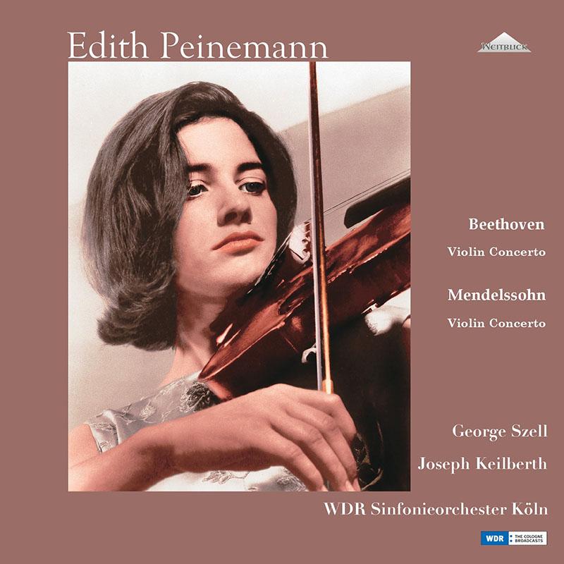 【LPレコード】 パイネマンのベートーヴェン&メンデルスゾーン/ヴァイオリン協奏曲集 1964年&1960年 <完全限定生産盤> WEITLP 003/04 2LP