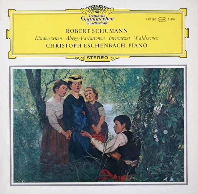 エッシェンバッハのシューマン/子供の情景ほか 独DGG 3037 LP レコード