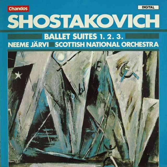 ネーメ・ヤルヴィのショスタコーヴィチ/バレエ組曲第1、2、3番
