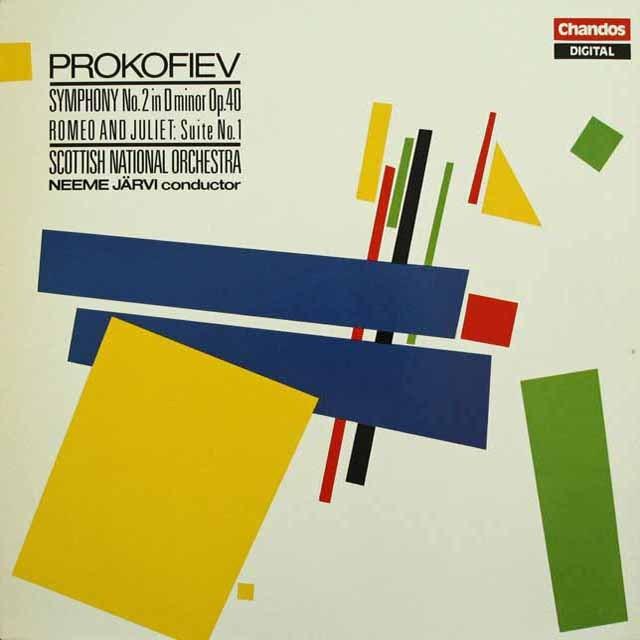 ネーメ・ヤルヴィのプロコフィエフ/交響曲第2番、《ロメオとジュリエット》第1組曲