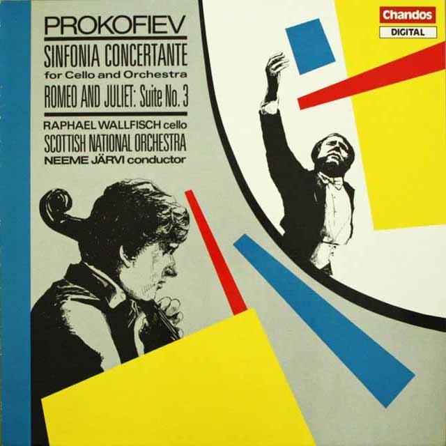 ネーメ・ヤルヴィのプロコフィエフ/チェロと管弦楽のための交響的協奏曲、ほか