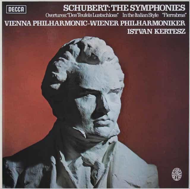 ケルテスのシューベルト/交響曲全集 英DECCA 3037 LP レコード