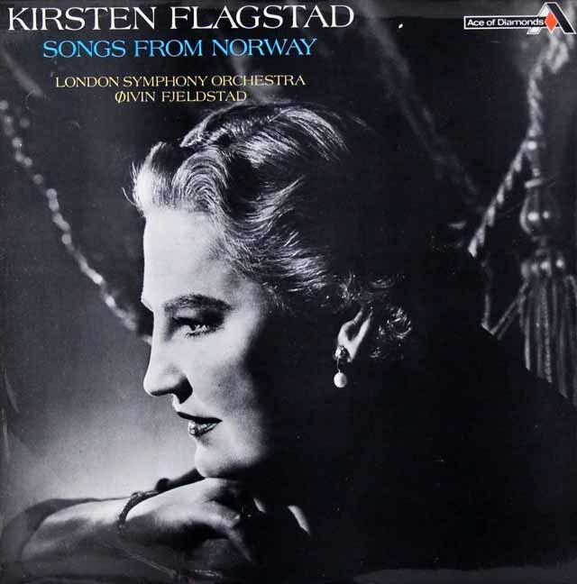 フラグスタート&フィエルスタートのノルウェー歌曲集  英DECCA 3037 LP レコード
