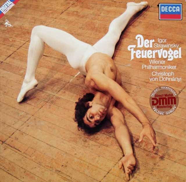 ドホナーニのストラヴィンスキー/「火の鳥」 独DECCA 3297 LP レコード