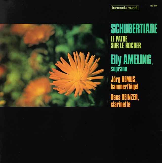 アメリング&デームスのシューベルティアーデ 仏HM 2827 LP レコード