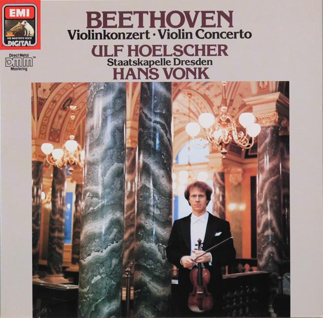 ヘルシャー&フォンクのベートーヴェン/ヴァイオリン協奏曲 独EMI 2749 LP レコード
