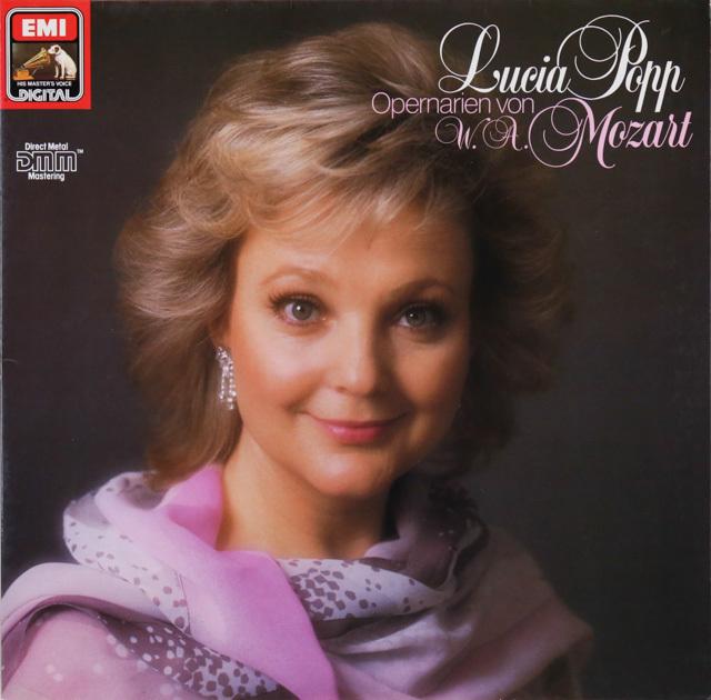ポップ&スラトキンのモーツァルト/オペラアリア集 独EMI 2749 LP レコード