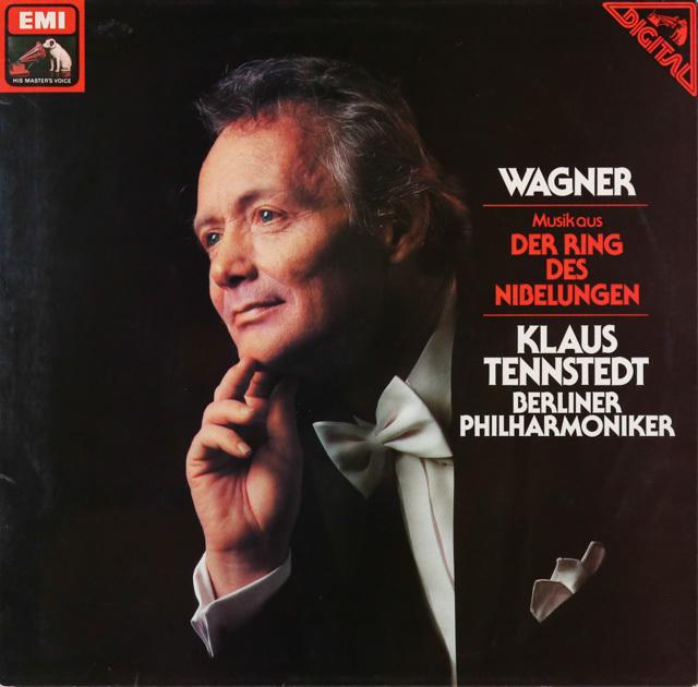 テンシュテットのワーグナー/「ニーベルングの指輪」からの音楽  独EMI  3287 LP レコード