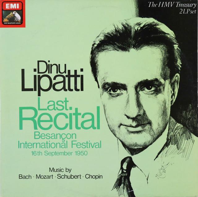 リパッティの「最後の演奏会」  英EMI   2749 LP レコード