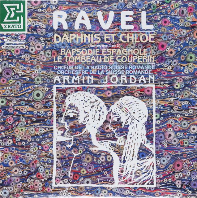 【未開封】ジョルダンのラヴェル/「ダフニスとクロエ」ほか 仏ERATO 2748 LP レコード